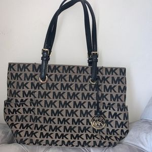 Black Logo Michael Kors Purse